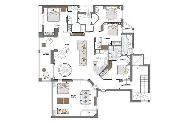 1/3 Penthouse - Appartamenti Esclusivi in Vendita a Porto Cervo - Costa Smeralda
