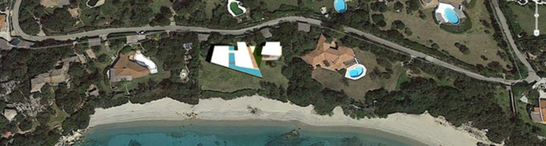 Villa Celvia Villa in costruzione sulla spiaggia de La Celvia - Capriccioli - Arzachena