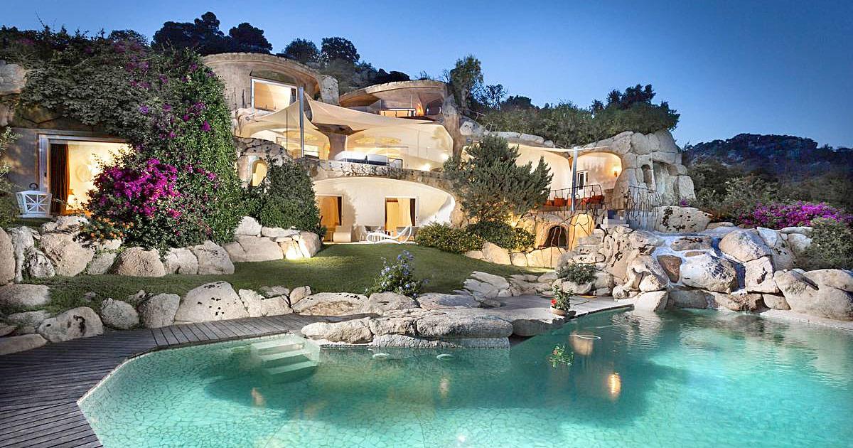Luxury Villas Sardinia, Piazza del Principe, Porto Cervo, Costa Smeralda